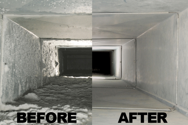 Duct cleaning improves your families air quality.
