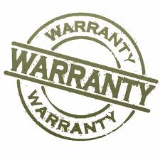 Manufacture Warranty Information